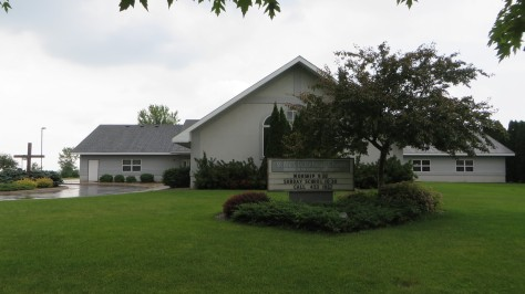 St. Paul's Lutheran Church, Austin, MN from east
